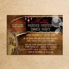 personalized murder mystery dinner by razzledazzledesign