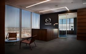 headquater toyota huddle rooms and spectrum views mazda unveils its new u s