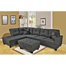 Sofa Leather And Fabric Combined by Chaise Sofa Sectional Sofas You U0027ll Love Wayfair