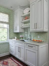 green tile backsplash kitchen green tile backsplash houzz