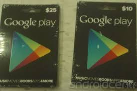 play store gift cards play gift cards pictured in 10 and 25 denominations the