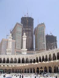 panoramio photo of abraj al bait tower under construction