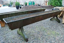 the english horse troughs dirt simple