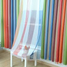 Boy Bedroom Curtains Rainbow Striped Curtains For Living Dining Room Bedroom Children