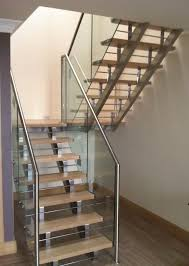 stair design exterior interior staircase design with glass stair railing and