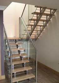 Glass Staircase Design Exterior Enchanting Interior Staircase Design With Glass Stair