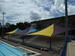 Swimming Pool Canopy by Shade Sails Sun Shades Photo Gallery