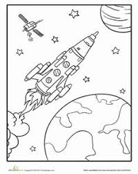 astronaut coloring page space astronauts coloring page free coloring pages pinterest