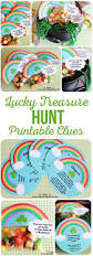 st patrick u0027s day lucky treasure hunt u0026 treat toppers saints