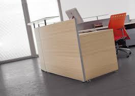 Oak Reception Desk Angelico Low Level Reception Desk
