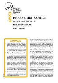 Shared History Council Of Europe L Europe Qui Protège Conceiving The European Union