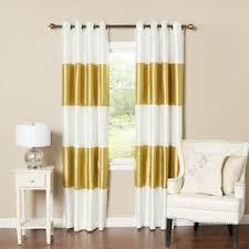 Velvet Blackout Thermal Curtains Modern Yellow U0026 Gold Curtains Drapes Allmodern