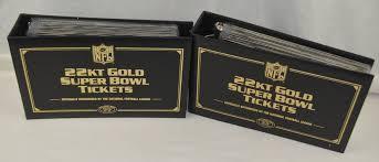 lot detail official nfl super bowl willabee u0026 ward 22k gold