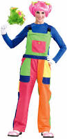 Ladies Clown Halloween Costumes Clown Costumes Women Overalls Clown Costume Clowning