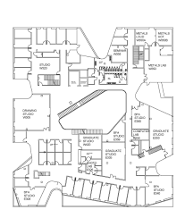 building floor plans visual arts building floor plans of and history