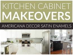 kitchen cabinets blog decoart blog diy kitchen cabinet makeovers satin enamels