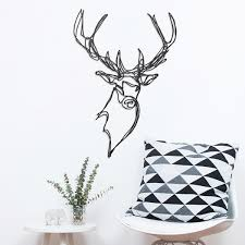 stag wooden wall designer wood wall decor by hu2