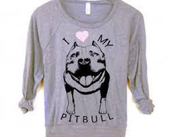 american pitbull terrier t shirts i love my pitbull etsy