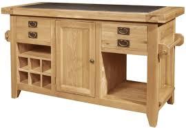 oak kitchen island roma solid oak furniture large granite top kitchen island unit