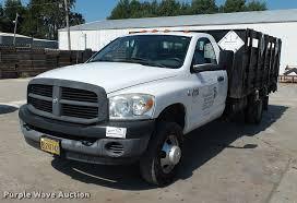 Dodge 3500 Truck - 2007 dodge ram 3500 flatbed pickup truck item da2346 tue