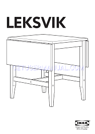ikea tables leksvik drop leaf table 23 35 47x31