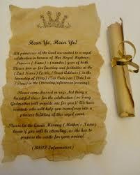 scroll invitation scroll party invitations cimvitation