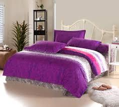 feminine bedroom with bright purple bedding ideas teen room rabelapp
