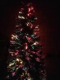 Fibre Optic Slim Christmas Trees - 7ft fibre optic slim christmas tree in exeter devon gumtree