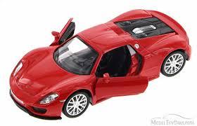 collectible model cars porsche 918 spyder kinsmart 555030 1 36 scale collectible