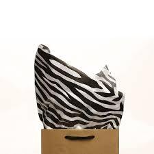 zebra tissue paper zebra print tissue paper 500 sheets new directions australia