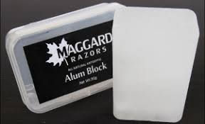 alum block is alum an alternative to using aftershave my shaver