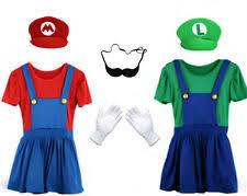 women mario costume ebay