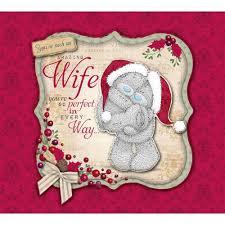 amazing wife xl boxed christmas card me to you tatty teddy bear