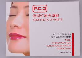 cosmetic tattoo numbing cream tattoo numbing anesthetic cream pcd anesthetic lip paste