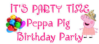 host a peppa pig birthday party for your child in earlwood kids