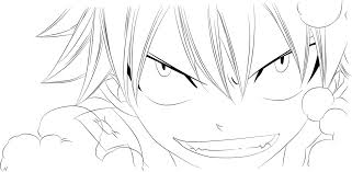 fairy tail 386 natsu lineart by ftg07 on deviantart