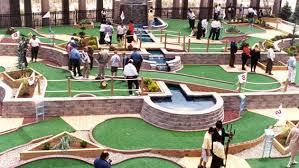 mini golf bureau city seeks proposals for miniature golf course evanston now