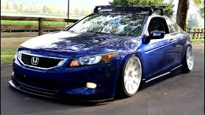slammed honda accord slammed fitted and static 8th gen accord stay tuned youtube
