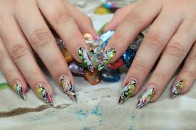 brush me blush baby dragon nail art skillsusa competition nails
