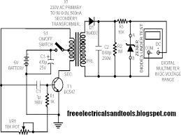 zener diode tester circuit diagram schematic