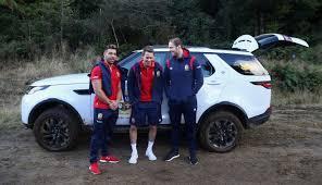 land rover british british and irish lions rory best rhys webb and jonathan joseph