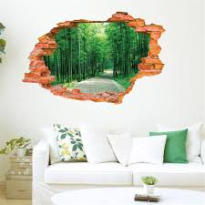 Aliexpress Home Decor Aliexpress Com Buy Creative 3d Bamboo Forest Home Decoration