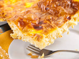 quick cheese pie with puff pastry greek recipe