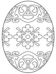 free easter egg coloring pages easter colouring easter egg