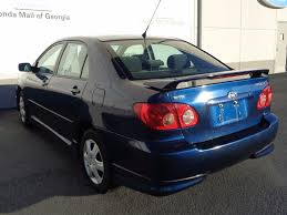 toyota 2007 corolla 2007 used toyota corolla 4dr sedan automatic s at honda mall of