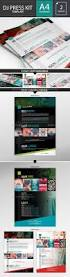 Music Resume Template Dj Musician Press Kit Resume Psd Template By Dogmadesign