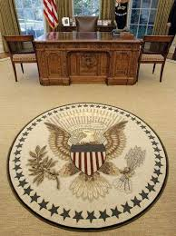 oval office rug oval office makeover includes rug from grand rapids based scott