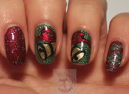 christmas nails art nail art