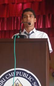 devagiri cmi public welcome speech