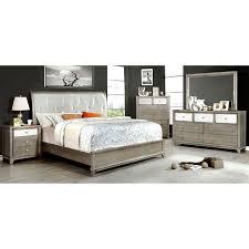 furniture of america aragon faux crocodile 6 drawer chest hayneedle